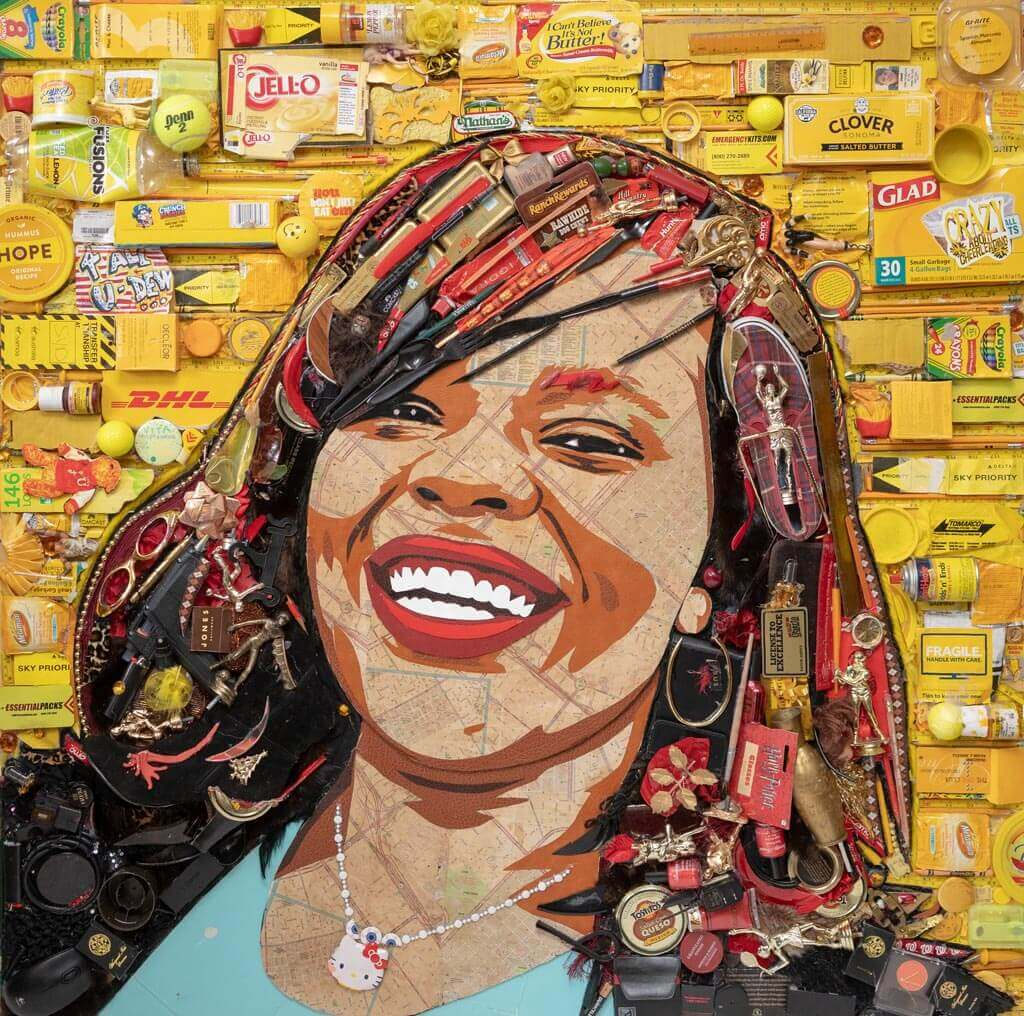 Mosaic Artwork for MyYelle